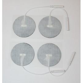 Electrodos adhesivos Lessa circulares de 50 milímetros de diámetro