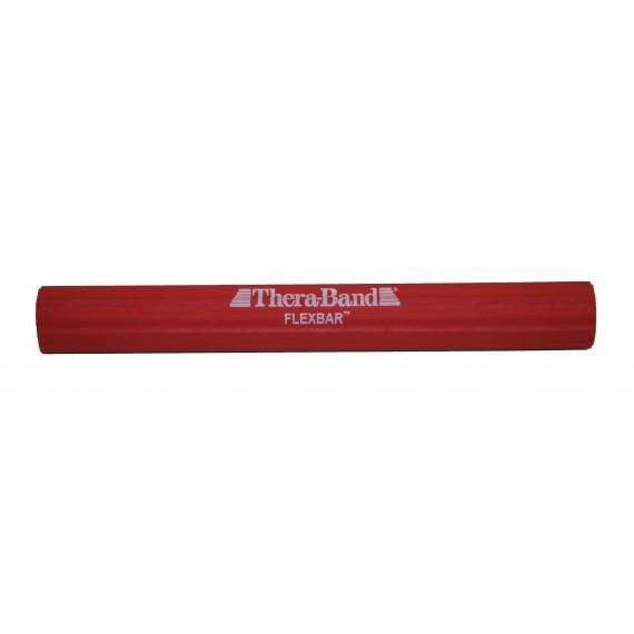 Flexbar Thera-Band color rojo (suave 4,5 Kilogramos) de 38 milímetros