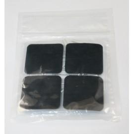 Electrodos adhesivos Lessa de 50 x 50 milímetros color azul