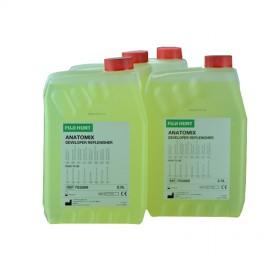 """Revelador Fuji Anatomix -4 garrafas de 2,5 litros """"listo para usar"""""""