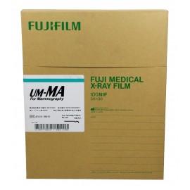 Película RX Fuji UM-MA de 24 x 30 centímetros
