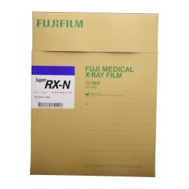 Película RX Fuji Super RX-N de 30 x 40 centímetros