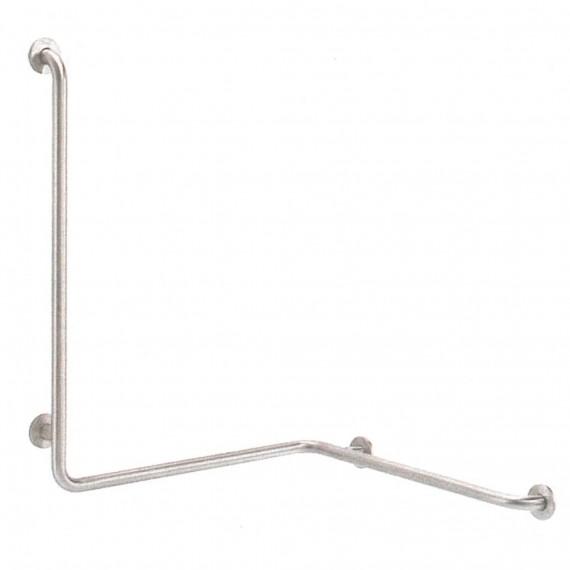 Barra en ángulo 3 brazos (90 x 70 x 70 centímetros) Izd.