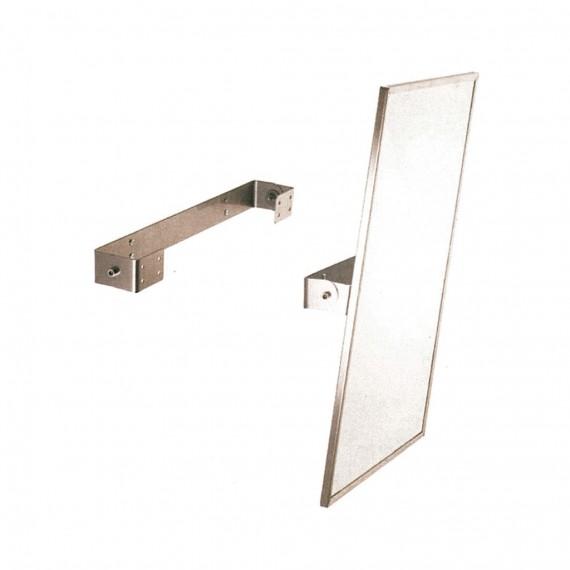 Kit para reclinar espejo con marco inoxidable satinado