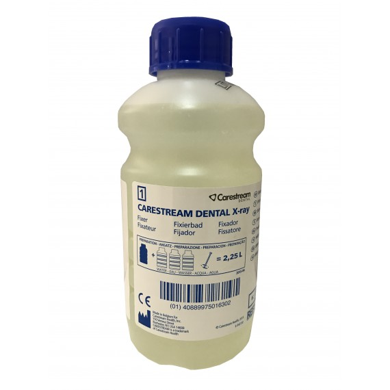 Fijador Carestream Dental de 500 centímetros cúbicos para 2 litros y ¼