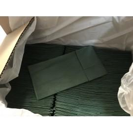 Tallas verdes viscosa absorbente de 20 g/m² y de 50 x 60 centímetros