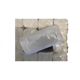 Toallas engarzadas en V de 2 capas y pasta pura