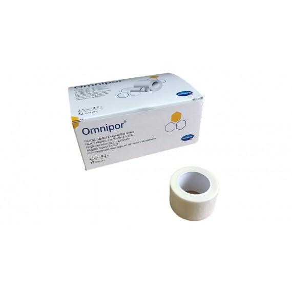 Esparadrapos de papel Omnipor de 2,5 centímetros x 9,2 metros (formato hospital) (12 unidades)