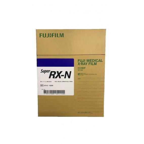 Película RX Fuji Super RX-N de 18 x 24 centímetros (100 unidades)