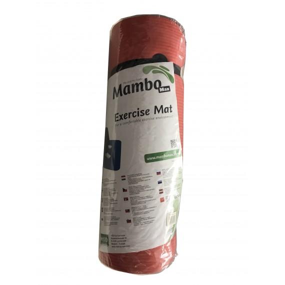 Colchoneta profesional Mambo Max en color rojo de 180 x 60 x 1,5 centímetros