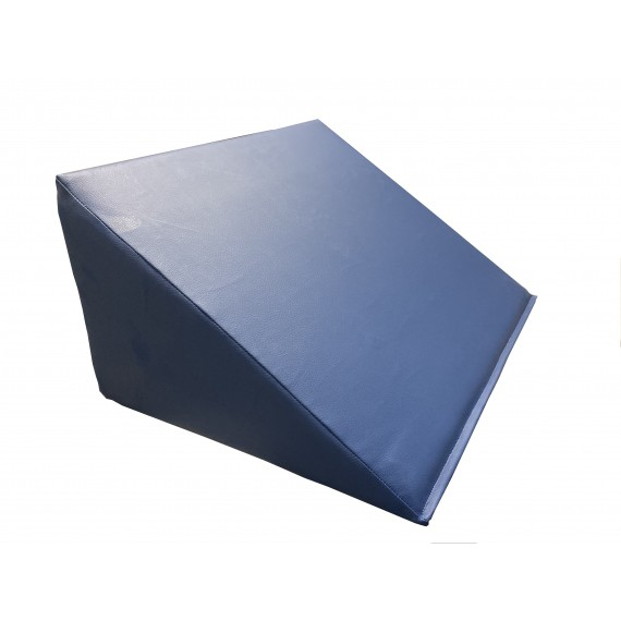 Cuña postural triangular Kinefis de 60 x 45 x 30 centímetros de color azul