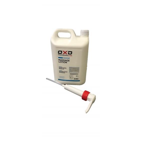 Leche neutra para masaje OXD de 5000 mililitros