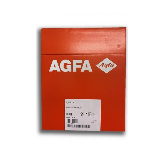 Pelicula RX Agfa CP-BU M de 24 x 30 centímetros (100 unidades)