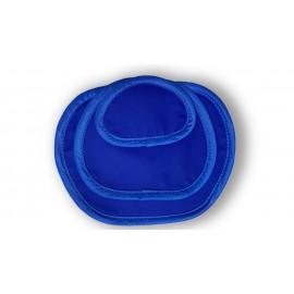 Protectores gonadales-ováricos Medical Index de 0,50 Pb, 3 tallas S-M-L en color azul