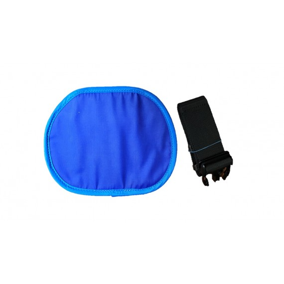 Protector gonadal-ovárico Medical Indez de 1,00 Pb talla L y color azul