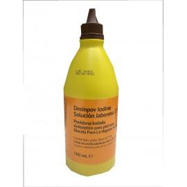 Povidona yodada solución jabonosa 7,5% Desinpov de 500 mililitros
