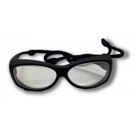 Gafas anti-X modelo RG-33 con protección frontal de 0,75mmPb y lateral de 0,30mmPb