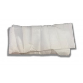 Tallas blancas de polipropileno absorbente de 80 x 200 centímetros