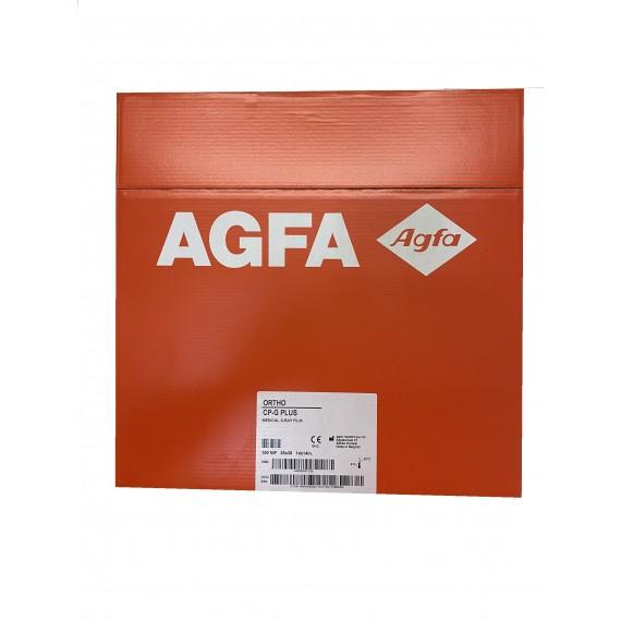 Película RX Agfa ORTHO CP-G Plus de 35 x 35 centímetros (100 unidades)