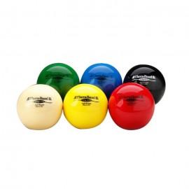 Bola de ejercicios Thera-Band amarillo (extra suave) y de 0,68 Kg. de resistencia