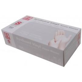 Guantes de vinilo sin polvo Basic talla pequeña