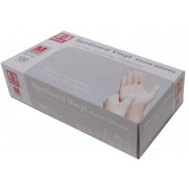 Guantes de vinilo sin polvo Basic talla mediana