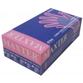 Guantes de nitrilo sin polvo Maxter talla M
