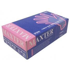 Guantes de nitrilo sin polvo Maxter talla L