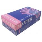 Guantes de nitrilo sin polvo Maxter talla L (100 unidades)