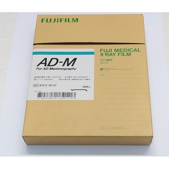 Película RX Fuji AD-MAMMO de 18 x 24 centímetros