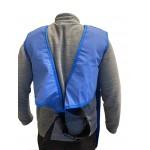 Detalle de la espalda del delantal de protección anti-X modelo CA Medical Index de 0,35 milímetros/Pb y talla S