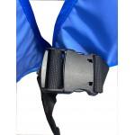 Detalle del cierre del delantal de protección anti-X modelo CA Medical Index de 0,35 milímetros/Pb y talla S