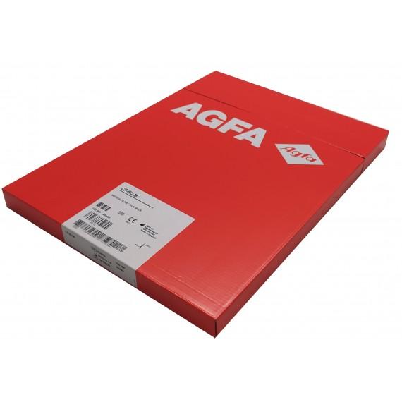 Película RX Agfa CP-BU M de 30 x 40 centímetros (100 unidades)