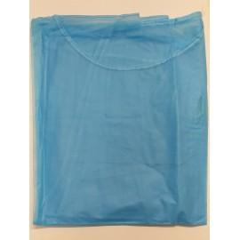 Batas de cirujano no estéril en color azul