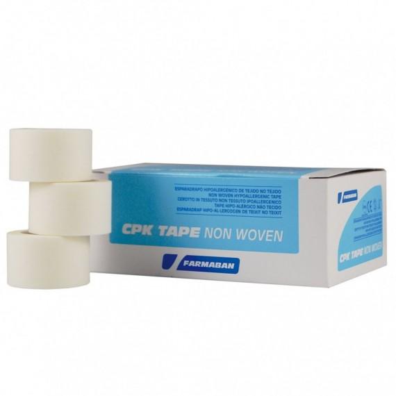 Esparadrapos CPK non woven tape de 2,5 centímetros x 9,1 metros (12 unidades)