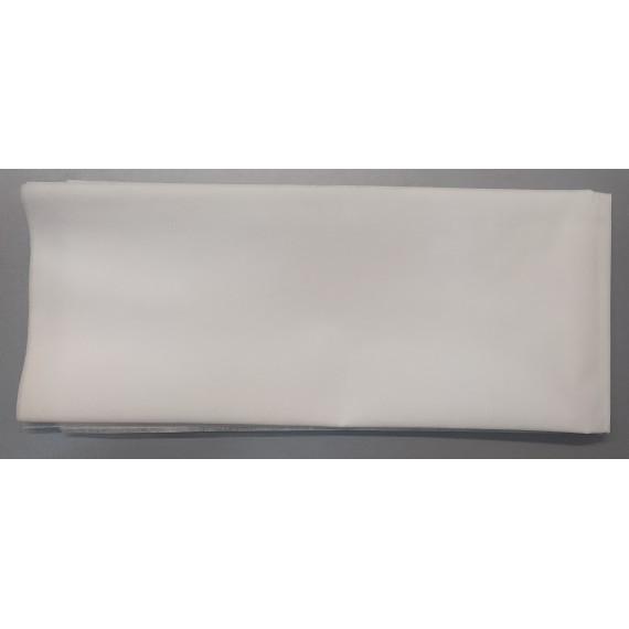 Talla blanca de polipropileno de 25 gramos y de 75 x 180 centímetros
