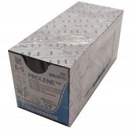 Suturas no absorbibles Prolene de 6/0 C/2A V-B y de 60 centímetros