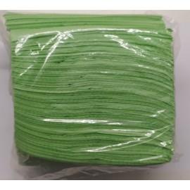 Servilletas desechables de color verde