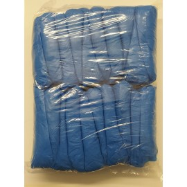 Cubre zapatos de PVC en color azul
