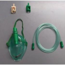 Mascarilla de oxígeno para adulto de 7 concentraciones Covidien