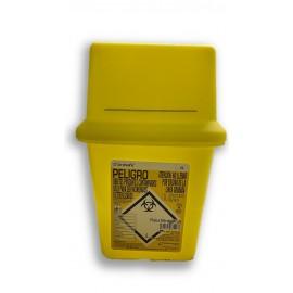 Contenedor para agujas usadas Sharpsafe de 4 litros