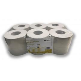 Papel higiénico reciclado de 2 capas Mandril 76