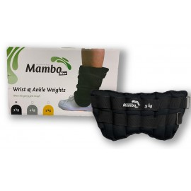 Tobilleras / muñequeras Mambo Max de 3 kilogramos