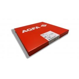Película RX Agfa CP-BU M de 35 x 35 centímetros