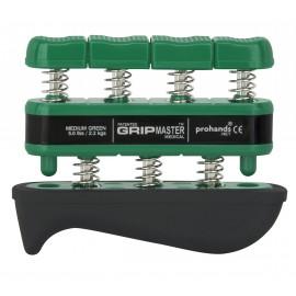 Muelle Exercise Grip RehabMedic verde de 2,3 a 7,3 kilogramos