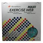 Ejercitador Web Maxi grande RehabMedic verde (fuerte)