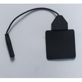 Electrodos de silicona con cable de 4 milímetros Lessa de 50 x 50 milímetros