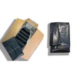 Bolsas de basura de 85 x 105 centímetros color negro y galga 400
