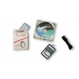 Termómetro ESCORT iMiniPlus PDF Logger MU-IN-D-16-L + Software