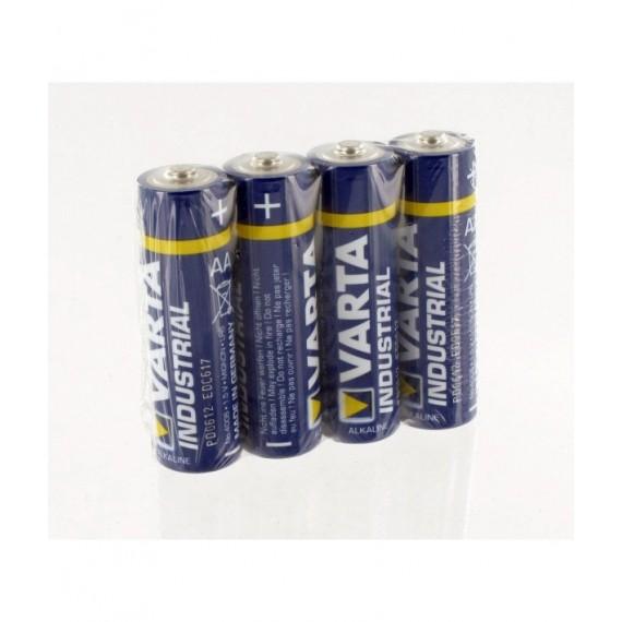 Pilas alcalinas VARTA Industrial AA LR06 de 1,5 V (4 unidades)